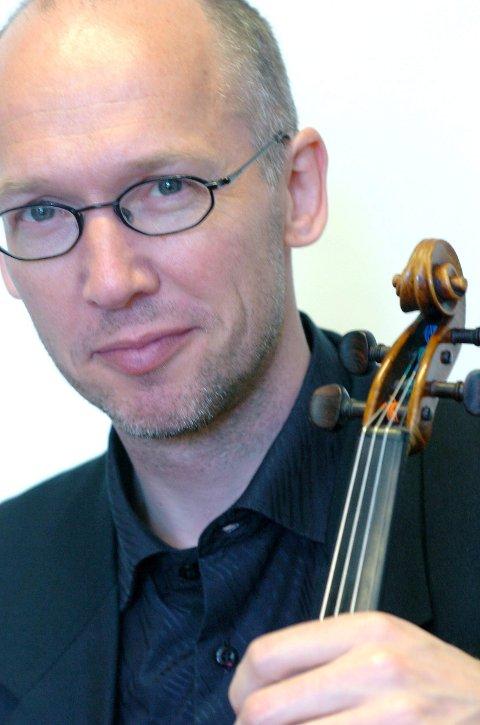«fiolinisten»: Øivind Nussle er fiolinist og konsertmester i MiNensemblet.foto: jan erik teigen
