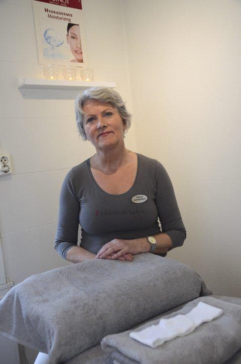 Torhild Markhus Andersen legg ned gågata Hud & Helse i januar.