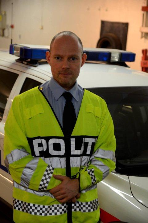 Etterforskingsleiar Paul Henriksen