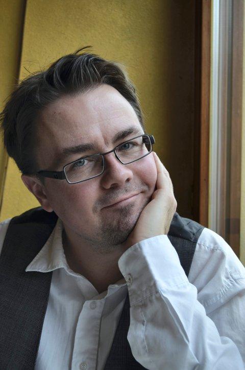 PÅ BRONSELAGET: Thomas Kolåsæter var på laget som tok bronse i Quiz-OL i Aten. (Foto: Bjørn-Frode Løvlund)