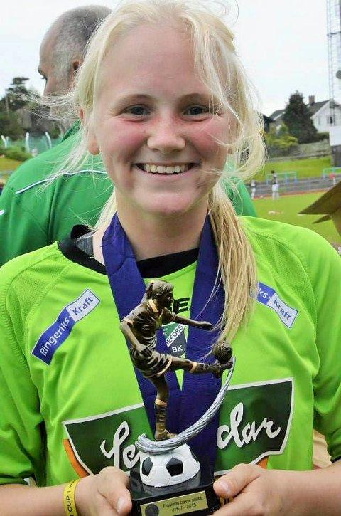 TILBAKE I MODERKLUBBEN: Martine Skogstad Falkeid er tilbake i HBK etter noen sesonger i Kongsvinger.