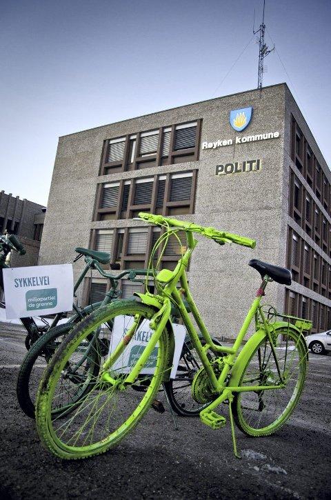 TRÅKKER TIL: Kommunestyret i Røyken kommer sannsynligvis til å bevilge 200 000 kroner til sykkelstrategi i kved.