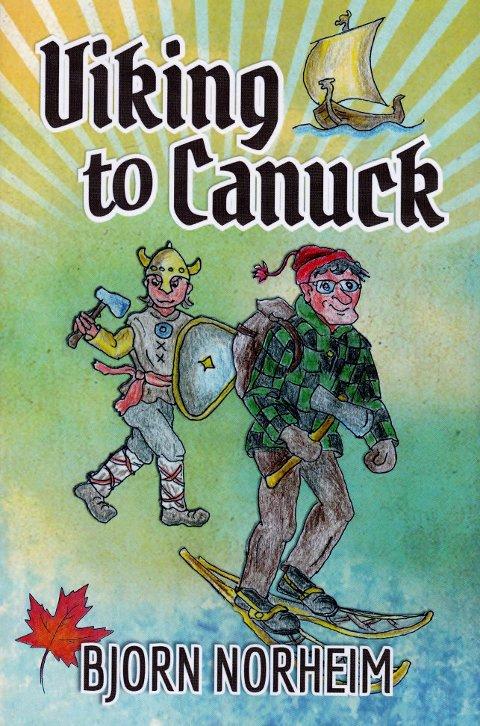 """SELVBIOGRAFI: Bjørn Olav Norheims bok """"Viking to Canuck"""" kom i 2013."""