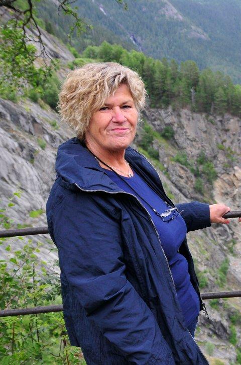 ATTRAKSJON: Spelet ved Rjukanfossen er avhengig av gode billettinntekter og tilskudd. Gro-Synnøve Brekka skulle gjerne hatt mer ressurser til å markedsføre arrangementet.
