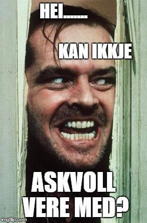 Slik starta Erlend Herstad meme-diskusjonen på Facebook. Lurer du på kva eit meme er? Ta deg ein tur innom www.knowyourmeme.com