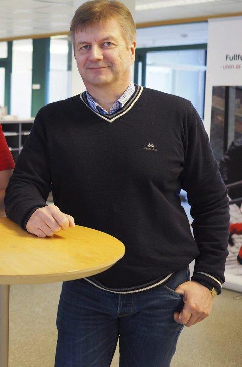 NAV-LEDER: Kolbjørn Karlsen ble 1. januar 2019 leder for NAV både i Narvik, Gratangen og Evenes.