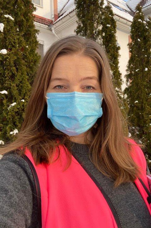 LEDER KRISETEAMET: Linda Årnes Gulbrandsen leder kriseteamet som hjelper ofrene etter kvikkleireskredet i Gerdrum. Gulbrandsen har vokst opp ved Hukusjøen i Grue.