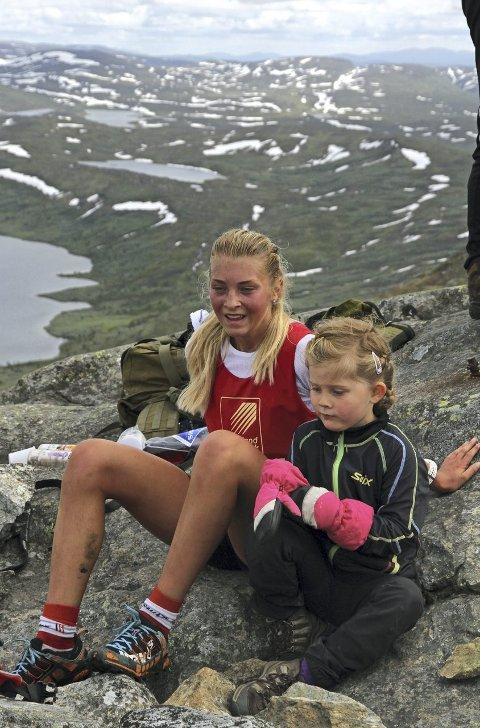Astrid Stav fra Meråker var raskest i dameklasse.