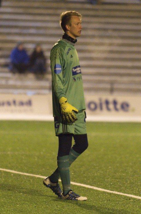 Prøvespill: Lars Gunderstuen prøvde seg for FK Gjøvik-Lyn i «julekampen» mot Redalen. Foto: Henning Gulbrandsen