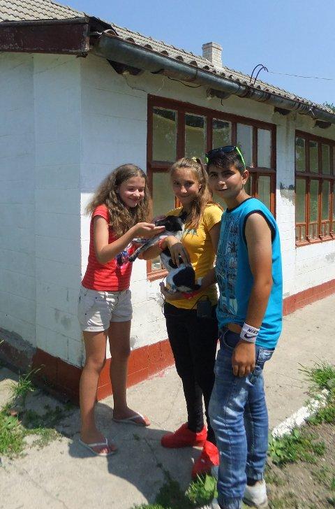 HUSKJØP: Ukrainagruppa har brukt penger på å kjøpe et hus til ungdom som de har hjulpet siden de var små. Huset er i byen Odessa i Ukraina.