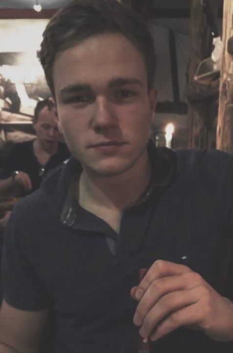 KOMMENDE JURIST: Håkon Werner Vyrje fra Skiptvet.
