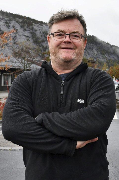 Reidar Saga: Brenner for Heimover-festivalen, og har kommunestyrets støtte i at han ikke er inhabil i saken.