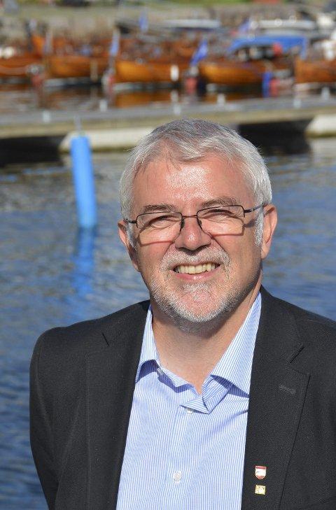 JERNBANE: Jon Olav Strand er fylkesvaraordfører i Aust-Agder og leder Jenrbaneforum Sør.Foto: Arkiv