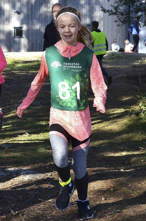KOStR SEG: Det er lett å se at Nikola Falinski løp med glede.