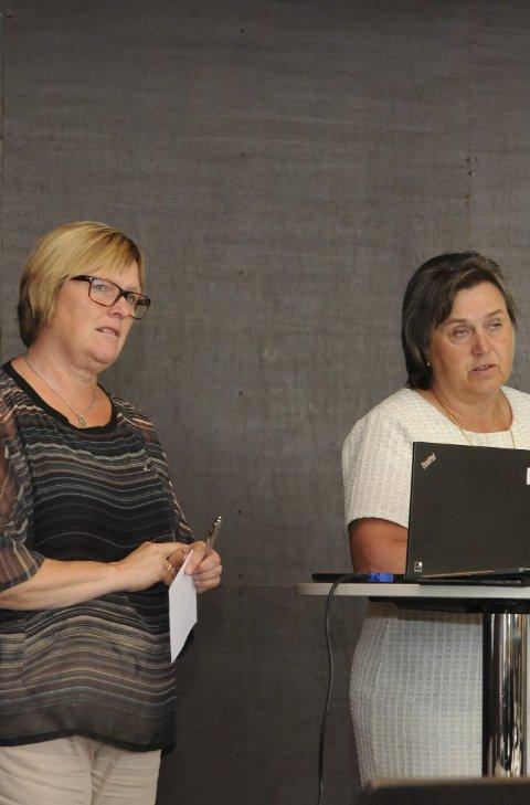 Bekymra: Inger Torun Klosbøle (t.v) og Jørand Ødegård Lunde mener en svekkelse av de lokale sparebankene er et tap for Valdres.
