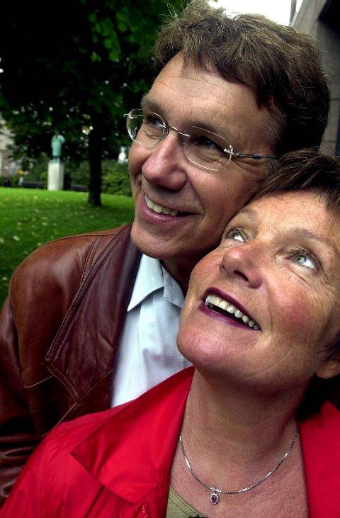 Gustav og Alis Lorentzen. Bildet er tatt i 2002.