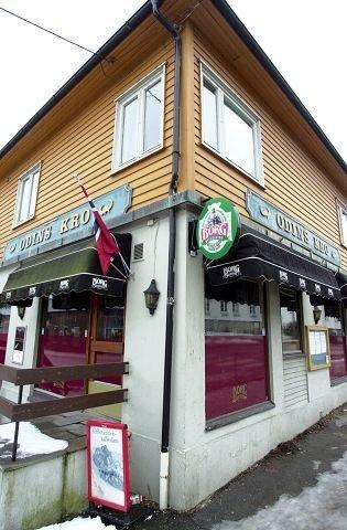 Lokalpub: Odins kro er et samlingssted for mange på Gressvik.
