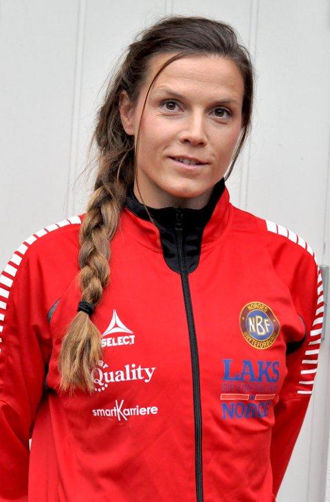 HADDE TROEN: Landslagstrener Lotta Andersson hadde troen på Grace under hele finalen.