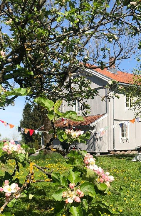 Søndag 26. mai er det mulgiheter for å bli nærmere kjent med dette historiske huset ved Ekeberg camping.
