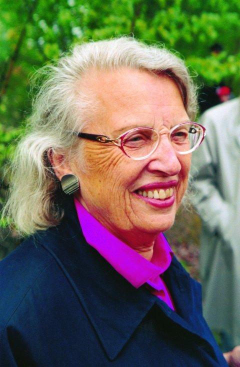 90-åring: Tordis Ørjasæter kom i høst med boken «Kjærligheten har sitt eget språk».            Foto: Aschehoug