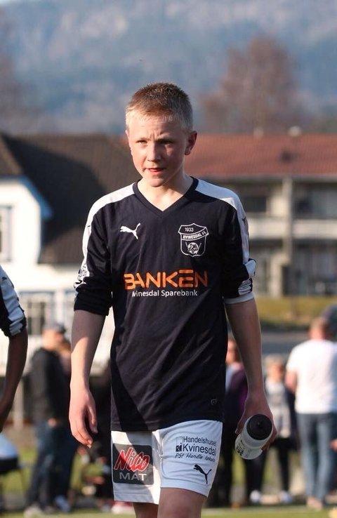 TIL VIKING: Det unge talentet har signert for Viking G16.