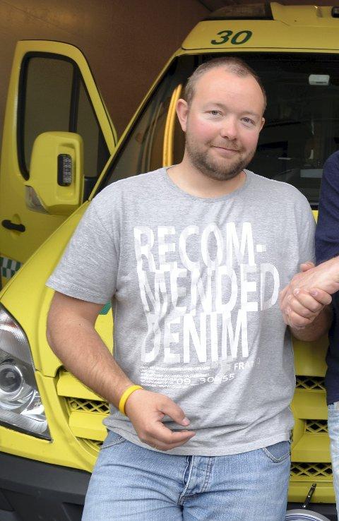 Stasjonssjef: Roger Lynghamar i Odda. Arkivfoto