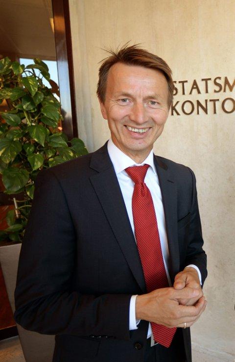 TIL VALG: Tidligere statssekretær Hans Kristian Amundsen stiller til valg for Ap til Sametingsvalget.