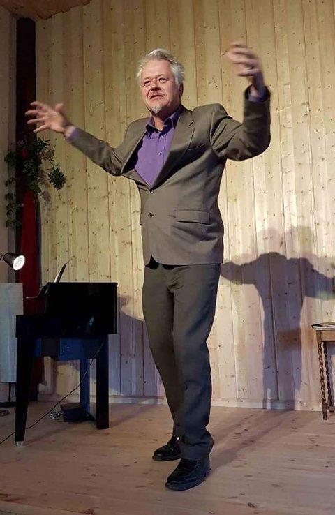 I SPISSEN: Med Jakob Zethner i spissen har det vært gjennomført 12 av 13 konserter på Villa Lunde.