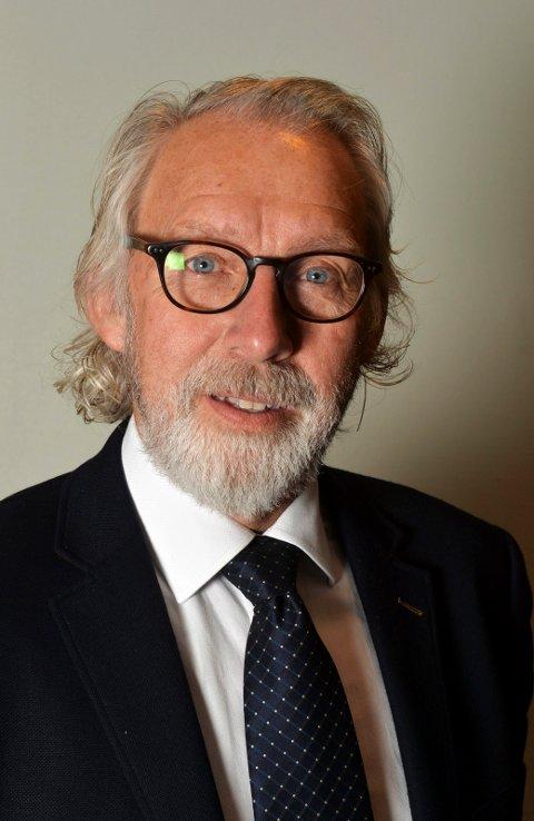 Carl-Erik Grimstad Vestfold Venstres 1. kandidat til stortingsvalget