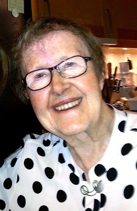 Agnes Husbyn fyller 90 år 14. april