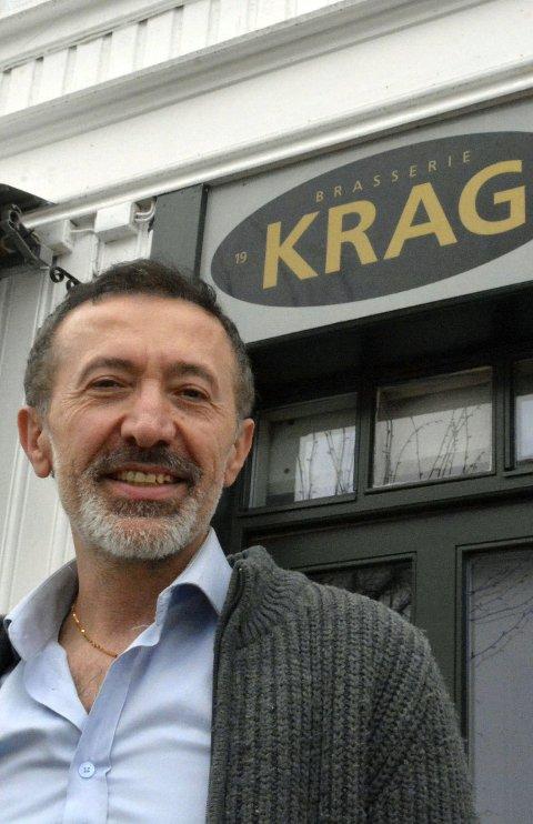 HJEMVENDT: Ibrahim Tas og Brasseriet i Krags Gate åpnet dørene igjen fredag. Foto: HPB
