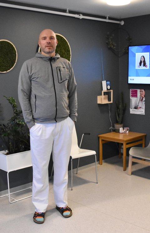 Lars-Erik Fikke, smittevernlege i Enebakk.
