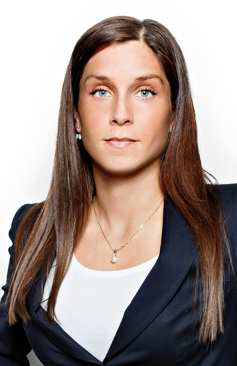Administrerende direktør i Romerikes Blad, Kristina Fritsvold Nilsen.