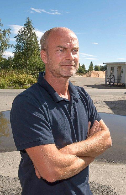Øystein Topp er styreleder i Kvartal 25 Gjøvik AS som eier Kirkegaten 12 og 14.