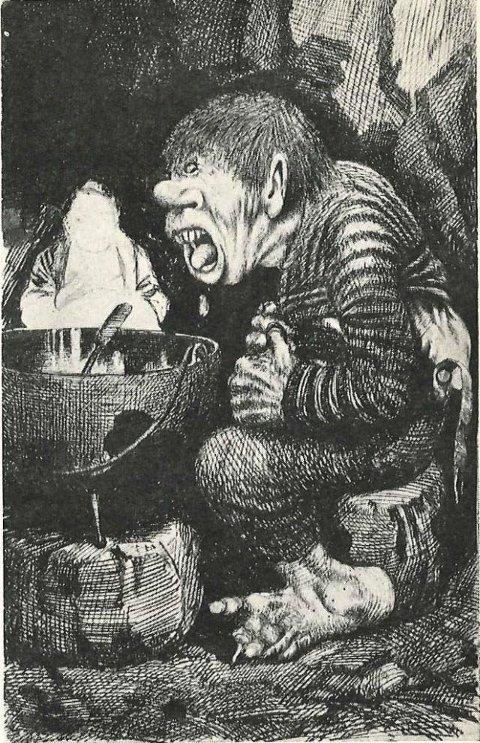 TrollTegning: Theodor Kittelsen