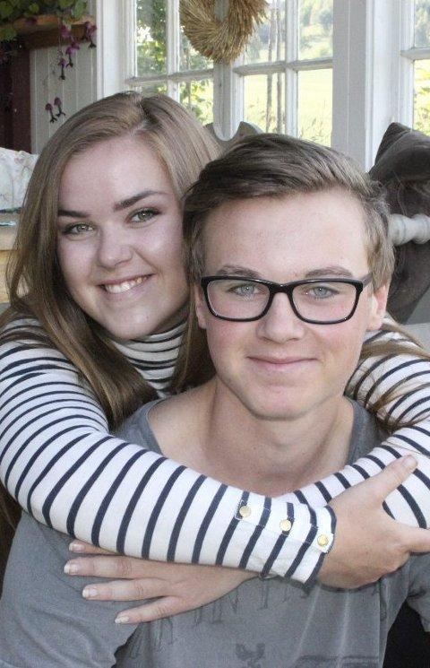 SAMMENSVEISET: Synne og Magnus har vokst mye på prosessen med å bli en fosterfamilie.