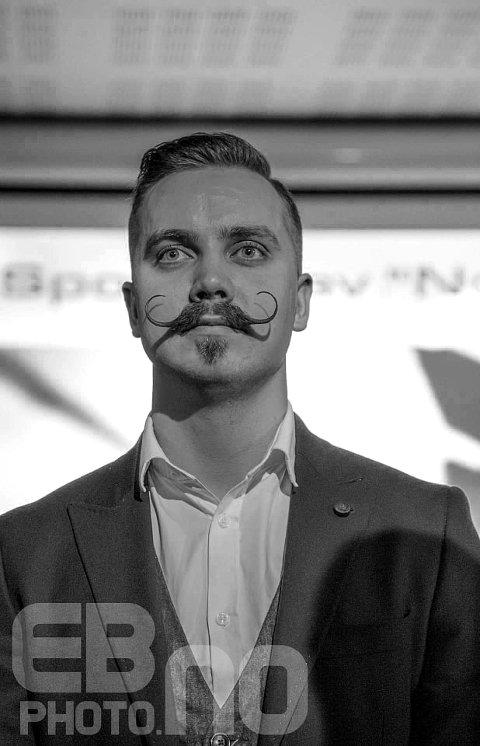 VANT: Christoffer Broman (26) gikk fra byens beste bart til Norges beste bart.
