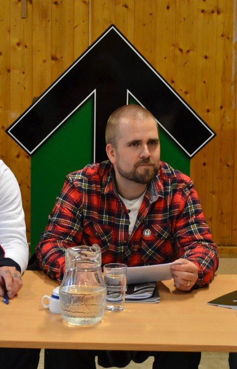 LEDER: Haakon Forwald er leder av den Nordiske Motstandsbevegelsens norske gren.