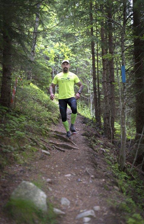 TØFF UTFORDRING: – Et krevende løp, sier Fulvio Øksendal om andre Bèrghem Ultraløp.