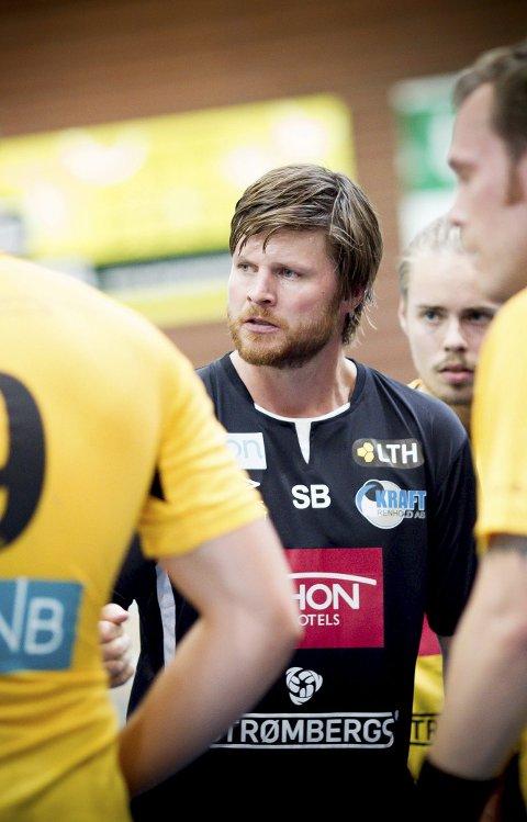Ikke fornøyd: Stian Bjermeland var skuffet over Elverums utvisningstaktikk.