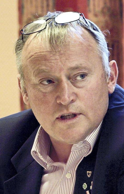NEGATIV: Ordfører Knut Gustav Woie er ikke begeistret.