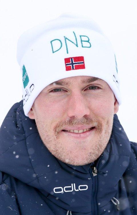 SPENT: Erlend Bjøntegaard gleder til lørdagens sprint.