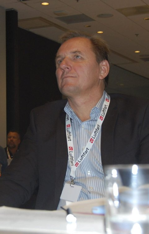 Fly: Forbundsleder Yngve Carlsen. FOTO: ANB