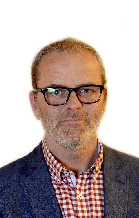 PÅ TOPP: Jon Sanness Andersen fra Nøtterøy vil gjerne stå på toppen av Færder Aps liste til kommunevalget  i 2017. Torsdag skal det avgjøres.