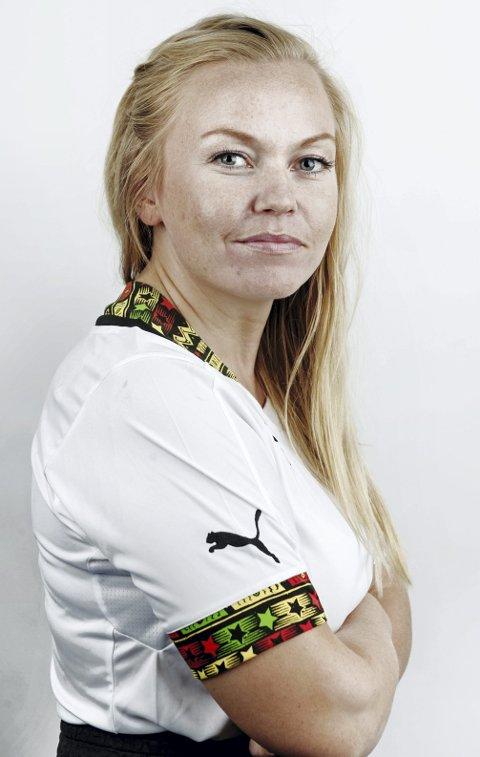 DRØMMEN: Stine Løvmo Lie gleder seg til å delta i alle de kule prosjektene som NRK har mulighet for å realisere.