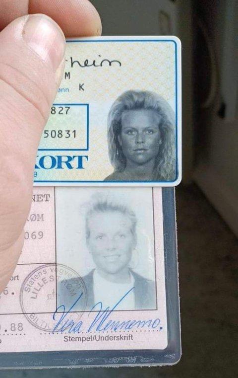 Over 30 år etter at lommeboka ble stjålet dukket den opp igjen.