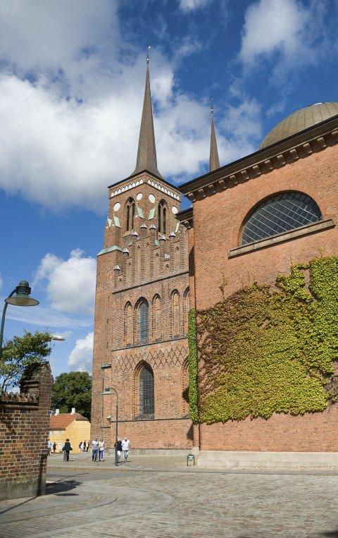 Unesco: Roskilde domkirke står oppført på Unescos verdensarvliste. Foto: Wenche Marie Jacobsen