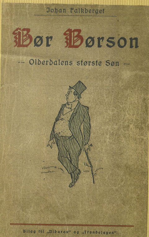 Særtrykk: Særtrykket fra Nidaros 1920.