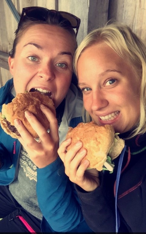 Fride Moan Hasselknippe og Ingrid Ekeberg er gode venner og nå flytter de ilag til Lofoten.