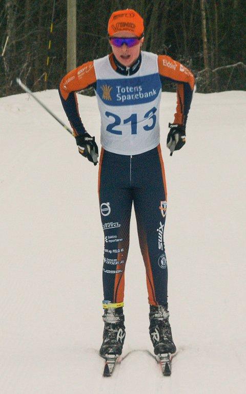 KLASSEVINNER: Ludvig Lunde Ragnhildsløkken fra Vind IL ble vinner av klassen for gutter 13 år.